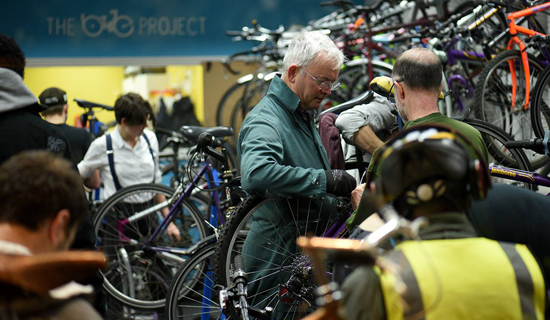The Bike Project- the workshop
